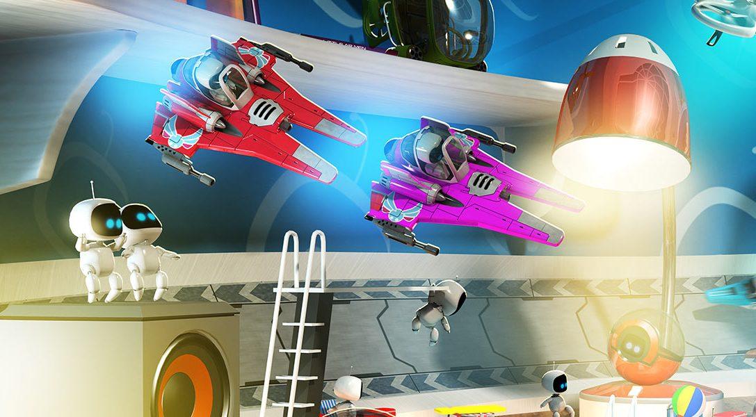 Wir stellen vor: Die innovative und ungewöhnliche Steuerung von The Playroom VR