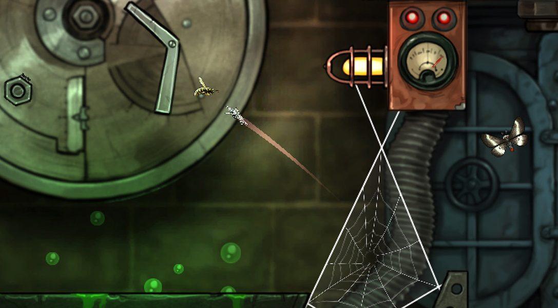 Umgebungs-Puzzler Spider: Rite of the Shrouded Moon ab morgen für PS4 und PS Vita erhältlich