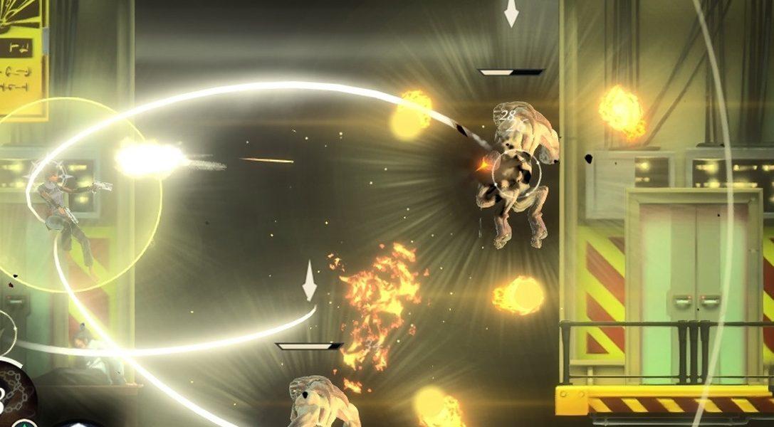Akrobatischer Shooter/Platformer Seraph bahnt sich am 1. November seinen Weg auf PS4