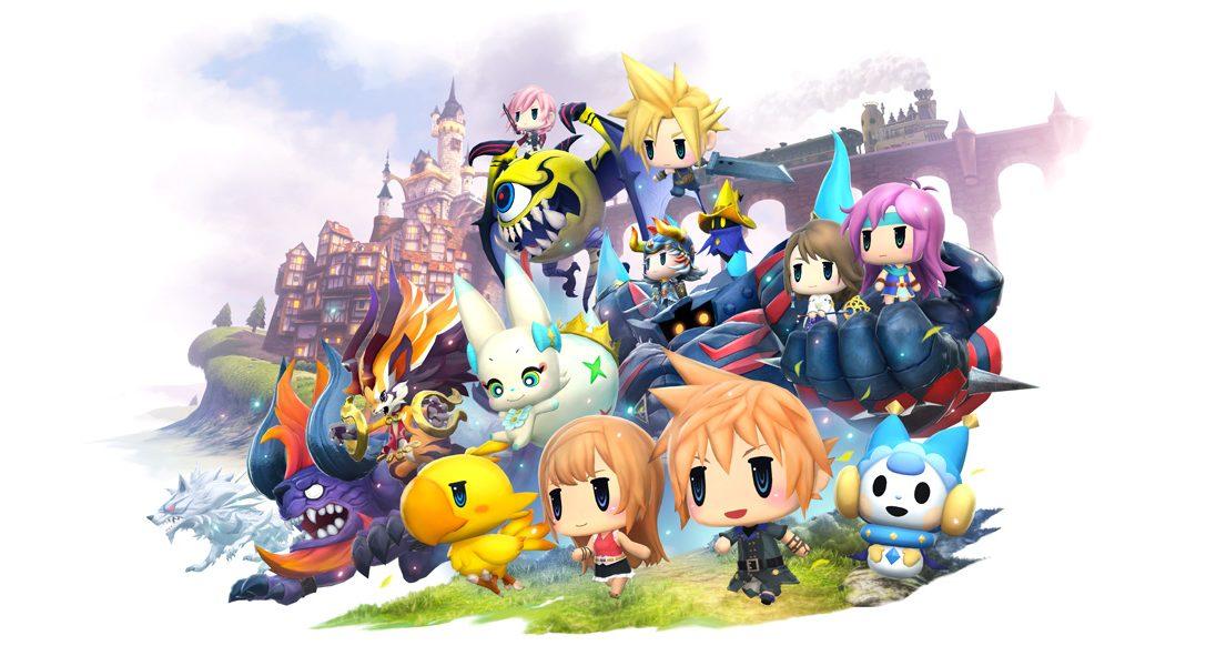 Hilfe, ich bin im Sammelfieber! – World of Final Fantasy Hands-on