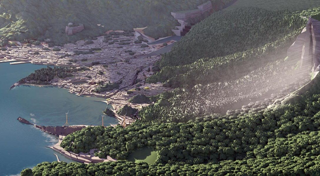 Die Entstehung von Karnaca aus Dishonored 2: Los Angeles trifft auf Skull Island