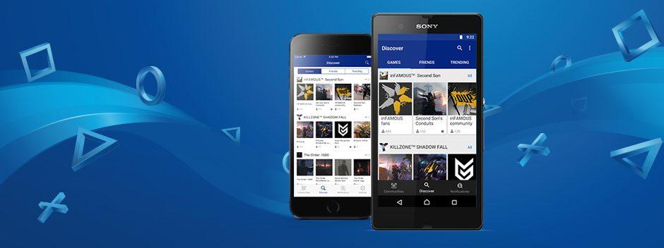 PlayStation Communitys-App erscheint morgen für iOS und Android