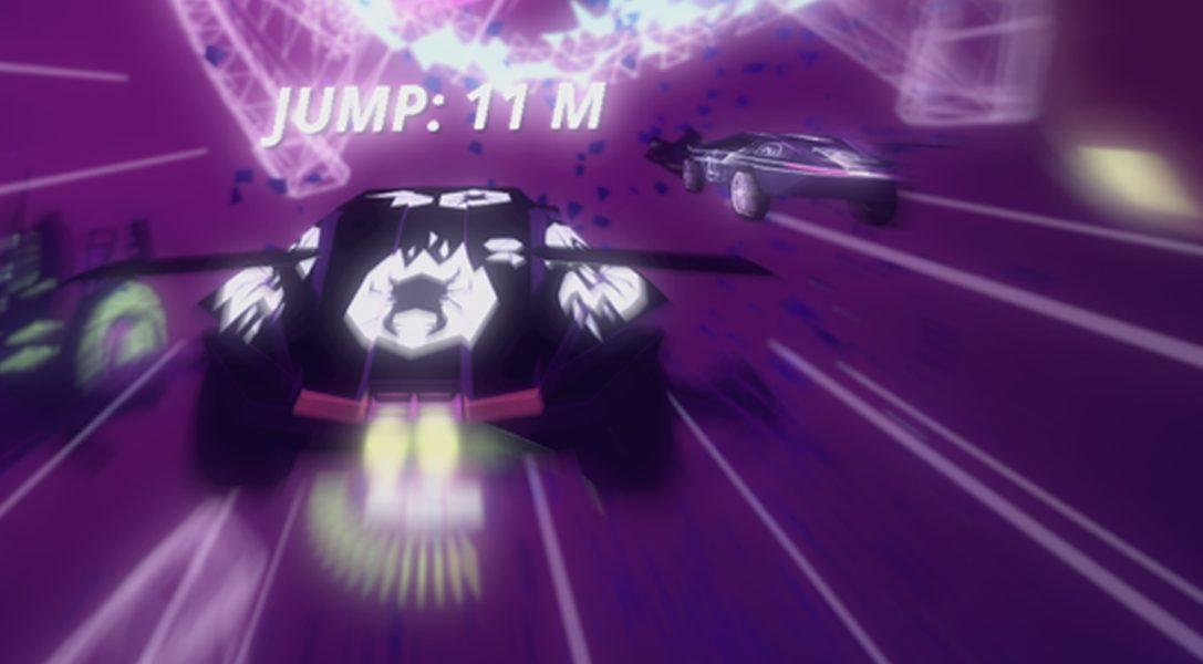 Meistert im Arcade-Rennen Drive!Drive!Drive! für PS4 mehrere Rennstrecken gleichzeitig – ab 13. Dezember erhältlich