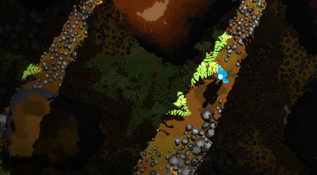 Erforscht im PS4-Abenteuer Future Unfolding einen surrealen Wald, der auf eure Berührungen reagiert