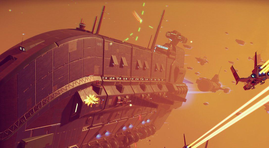 No Man's Sky-Update bringt Basenbau, neue Spielmodi und Frachter
