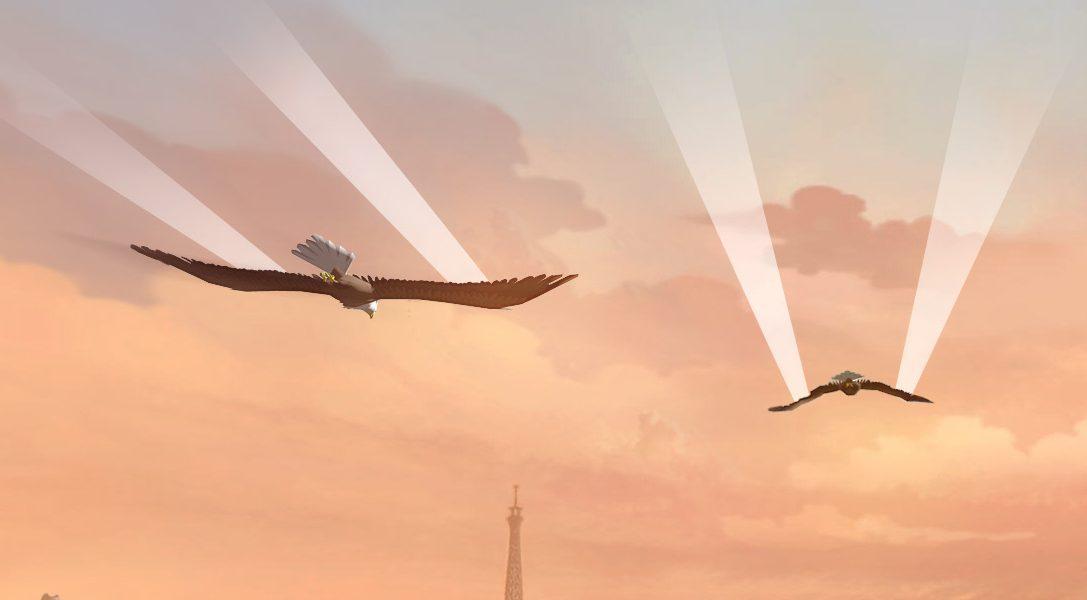 Erhebt euch in die Lüfte mit Playstation VR-Titel Eagle Flight