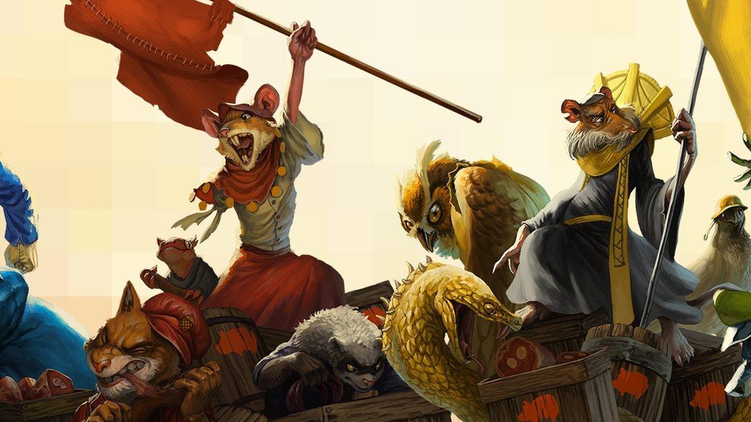 Das Arcade-Echtzeit-Strategiespiel Tooth and Tail erscheint für PlayStation 4