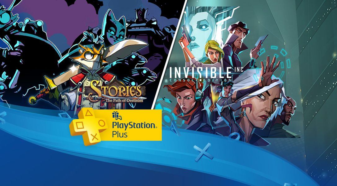 PlayStation Plus im Dezember: Invisible Inc., Stories: The Path of Destinies und mehr