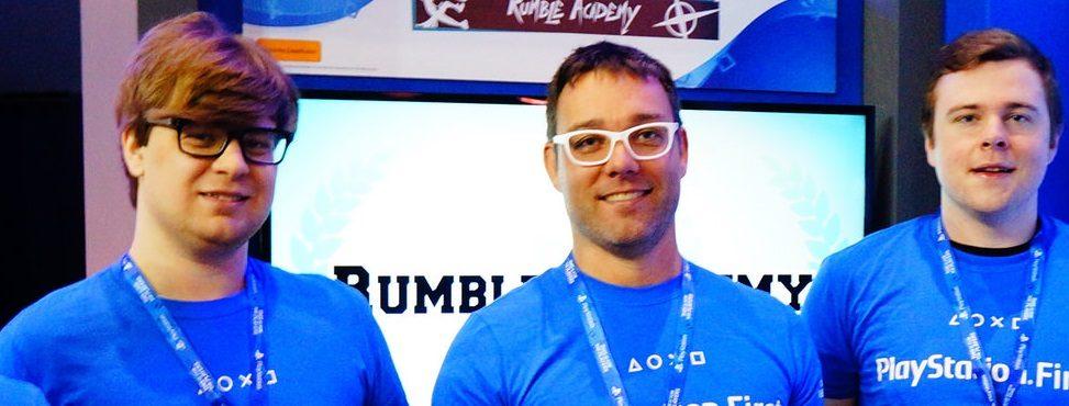 Wir präsentieren zwei neue Absolventen von PlayStation First: Rumble Academy und Retro Vision