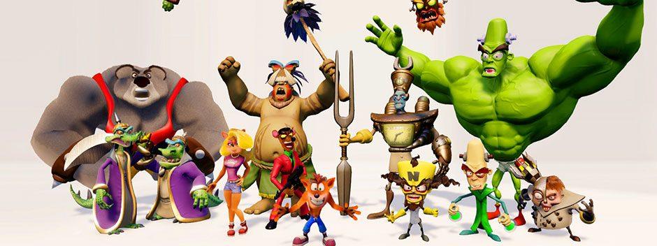Crash Bandicoot N. Sane Trilogy bringt die Klassiker im Remaster-Paket auf PS4