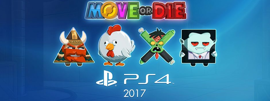 Partyspiel Move or Die für PS4 auf der PSX angekündigt