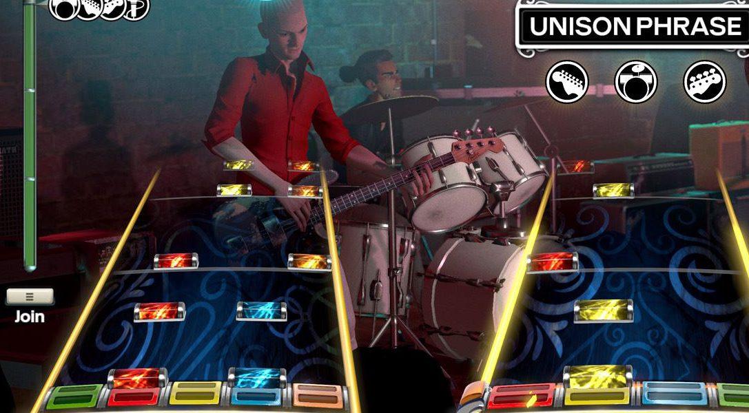 Harmonix bringt ab Januar verbliebene Rock Band DLC-Exporte auf PS4