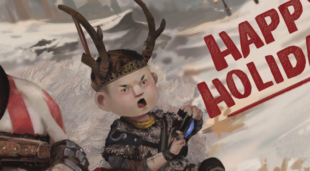 Die besten Weihnachtskarten der PlayStation-Entwickler
