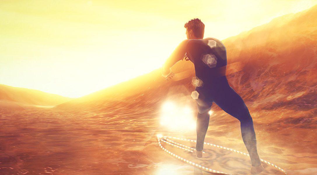 Meistert Monsterwellen im PS4-Arcade-Sporttitel Surf World Series