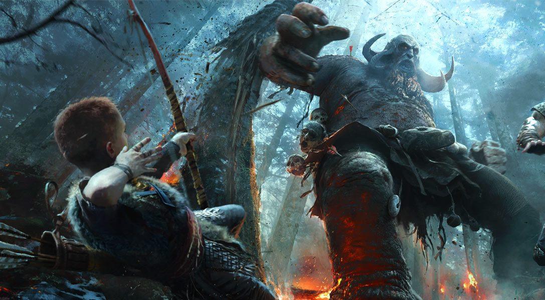 God of War-Superfan trifft das Team hinter dem kommenden PS4-Actionkracher
