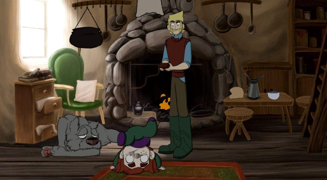 Der vierjährige Animationsmarathon, der das PS4-Abenteuer The Little Acre zum Leben erweckte