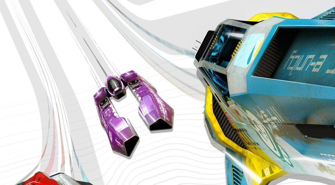 WipEout Omega Collection für PS4 auf der PSX angekündigt