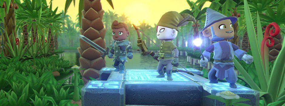 Das Sandbox-Action-RPG Portal Knights kommt für PlayStation 4