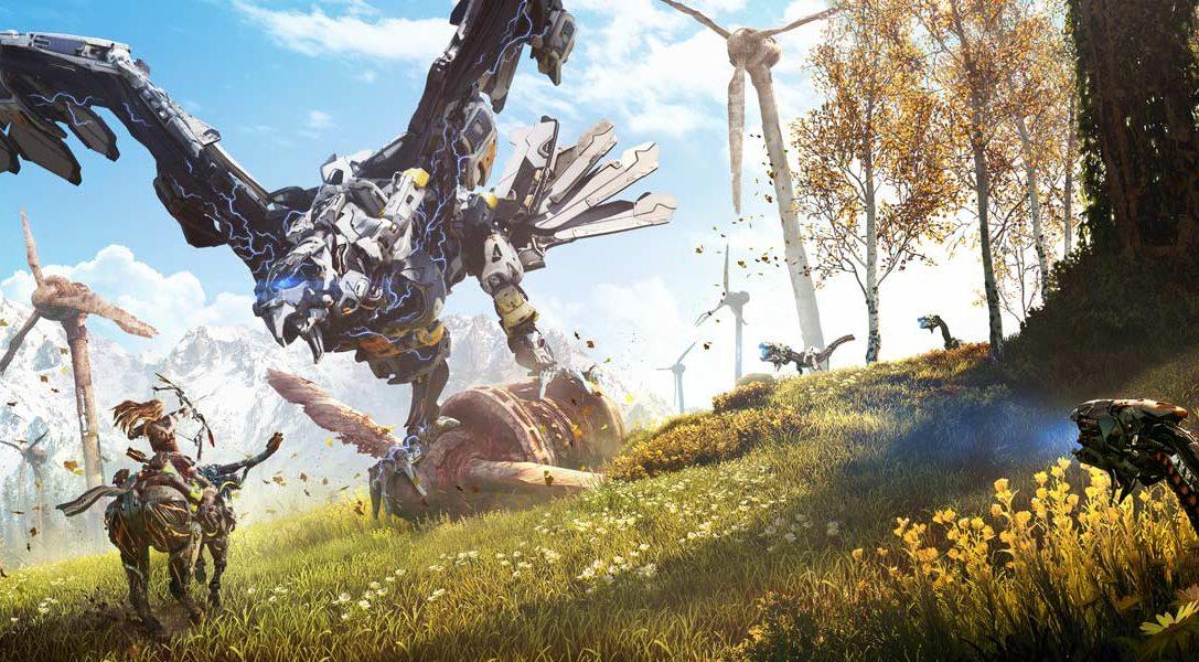 Das Horizon Zero Dawn PlayStation 4-Bundle