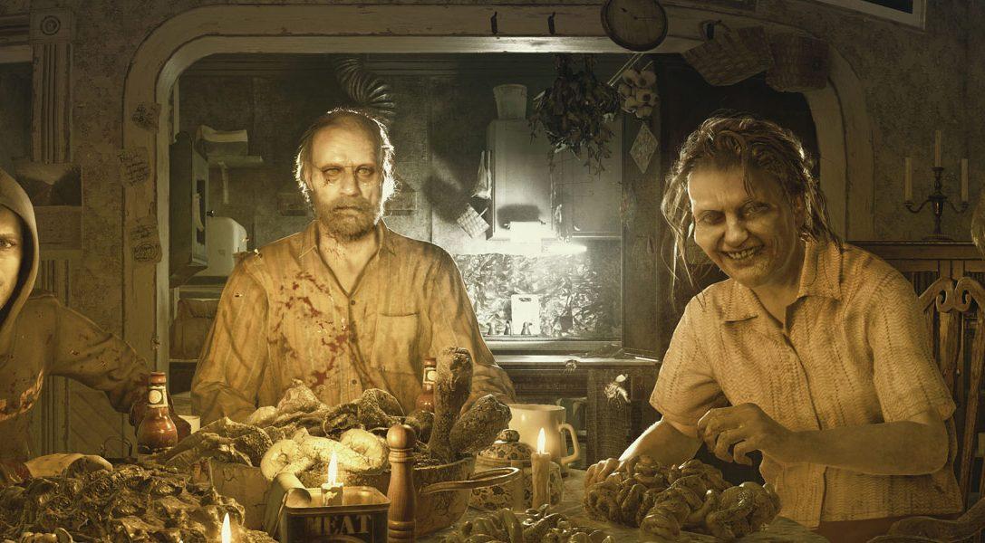 Erlebt den Horror von Resident Evil 7 Biohazard, jetzt erhältlich auf PS4