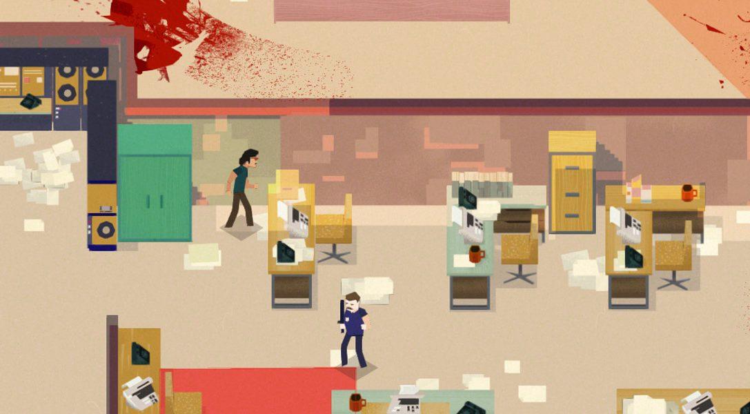 Vernichtet im 70er Jahre inspirierten Stealth-Spiel Serial Cleaner Tatortspuren – ab Sommer 2017 für PS4