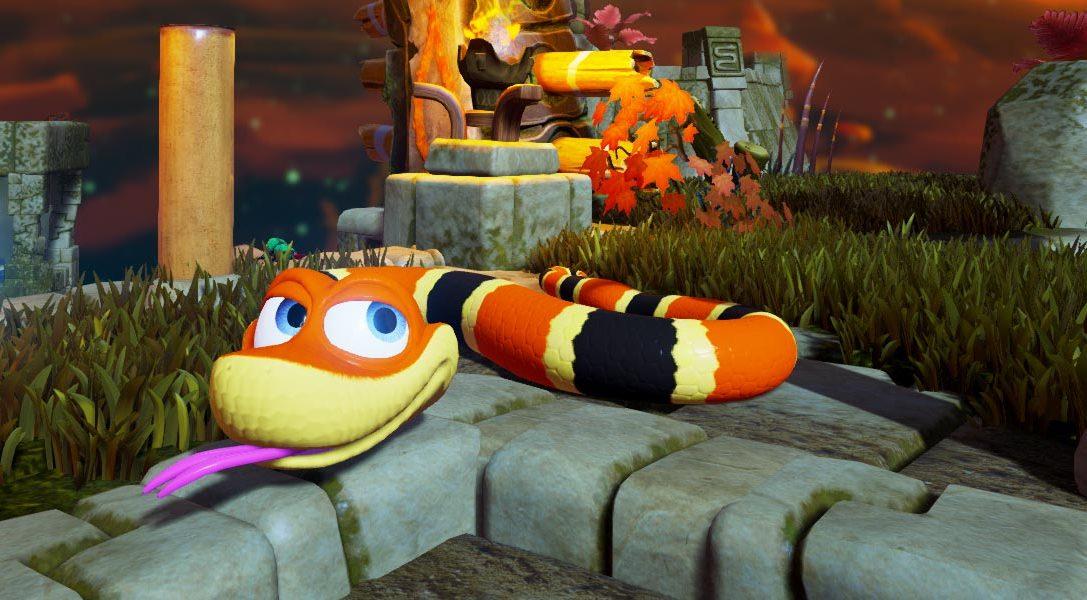 Snake Pass schlittert am 29. März auf PS4 und PS4 Pro