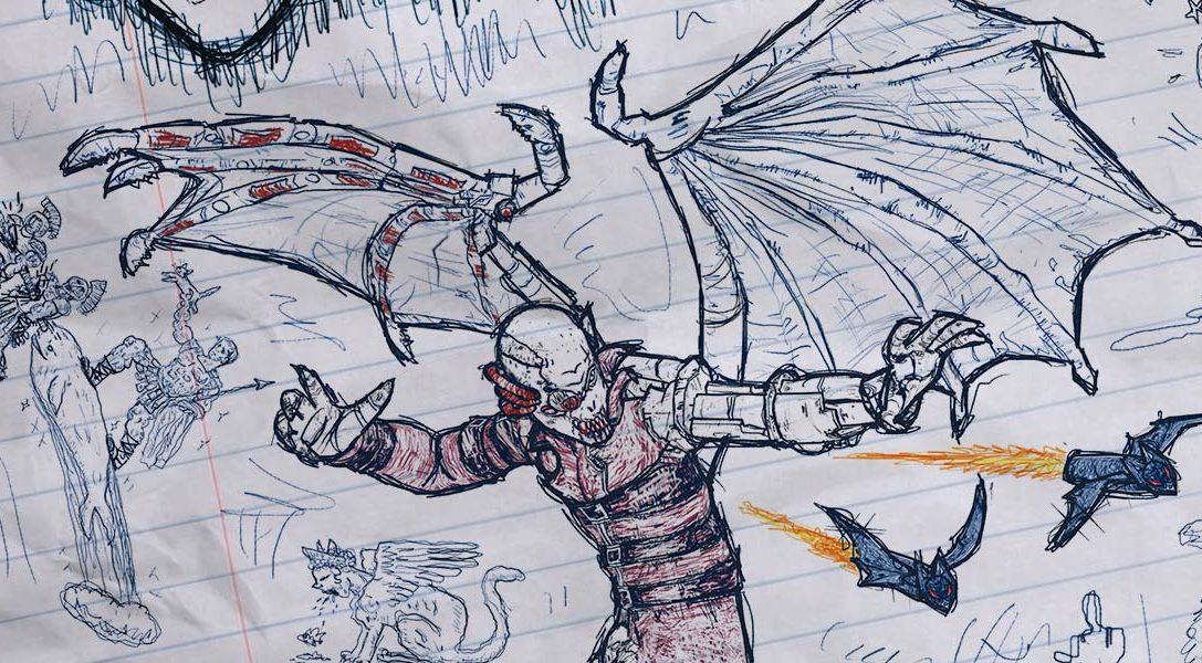 David Jaffe erklärt, wie sich sein teambasierter PS4-Shooter Drawn to Death seine eigene Nische zeichnet