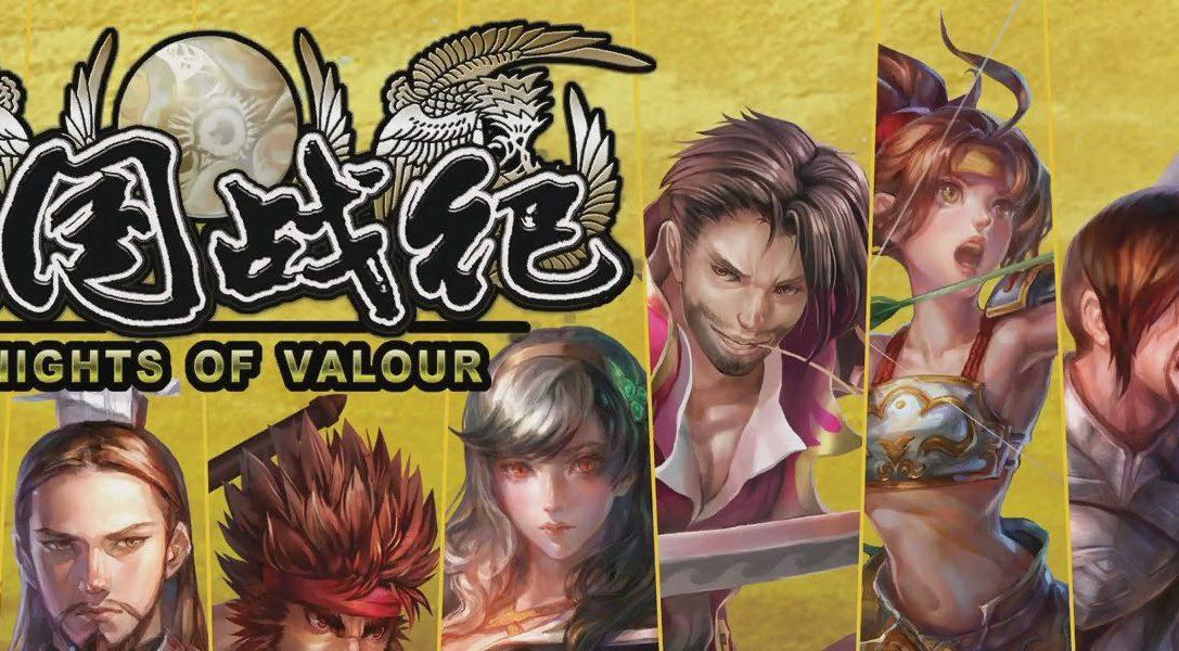 Kostenloses Arcade-Beat 'em up Knights of Valour bald auf PlayStation 4
