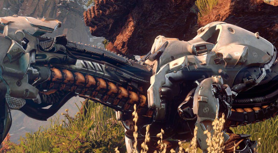 Guerrilla Games erläutert die Entstehung der Maschinen aus Horizon Zero Dawn