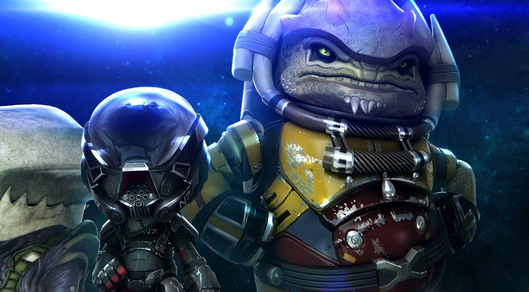 Mass Effect: Andromeda-Kostümpaket ab heute bei LittleBigPlanet 3