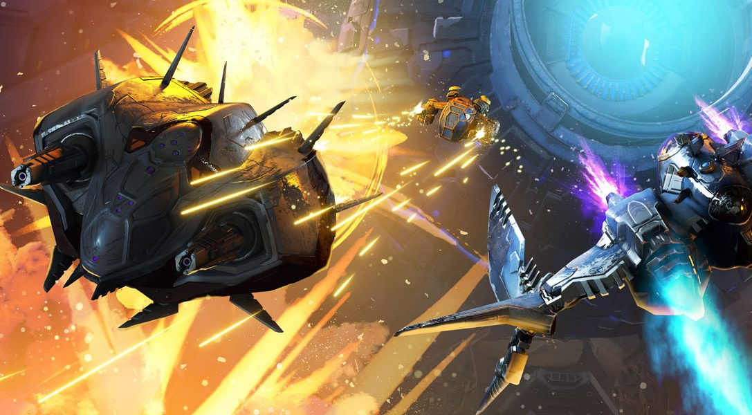 Macht euch für die tödlichen Charaktere & Schiffe aus dem PS VR-Shooter StarBlood Arena bereit