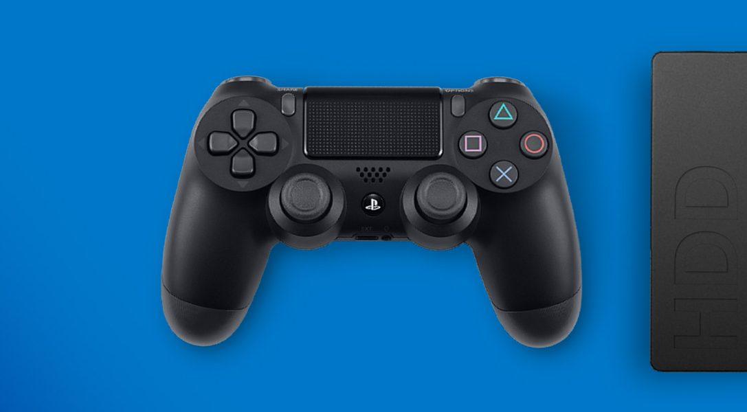 So ladet und speichert ihr PS4-Spiele und -Apps auf eine externe Festplatte