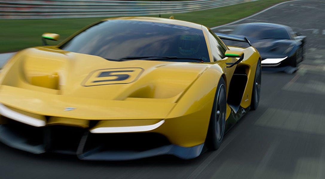Fittipaldi EF7 Vision Gran Turismo von Pininfarina beim Genfer Auto-Salon enthüllt
