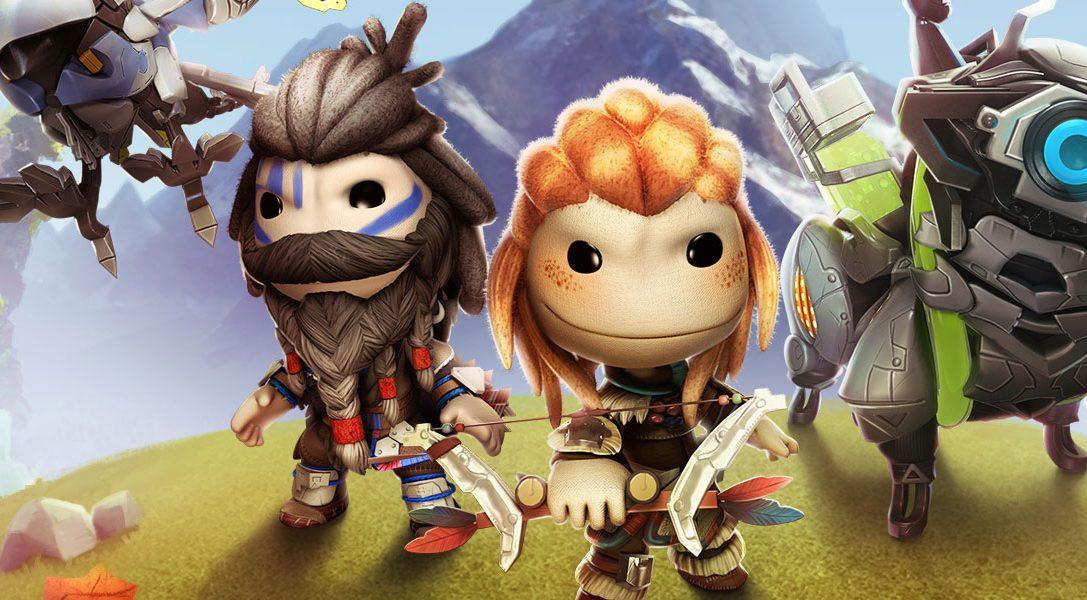 """Das """"Horizon Zero Dawn""""-Kostümpaket für LittleBigPlanet 3 ist jetzt erhältlich!"""