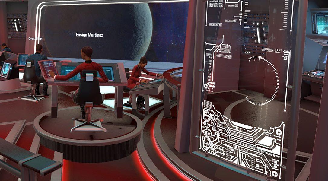 So fängt man die Authentizität der letzten Grenze in Star Trek: Bridge Crew für PS VR ein