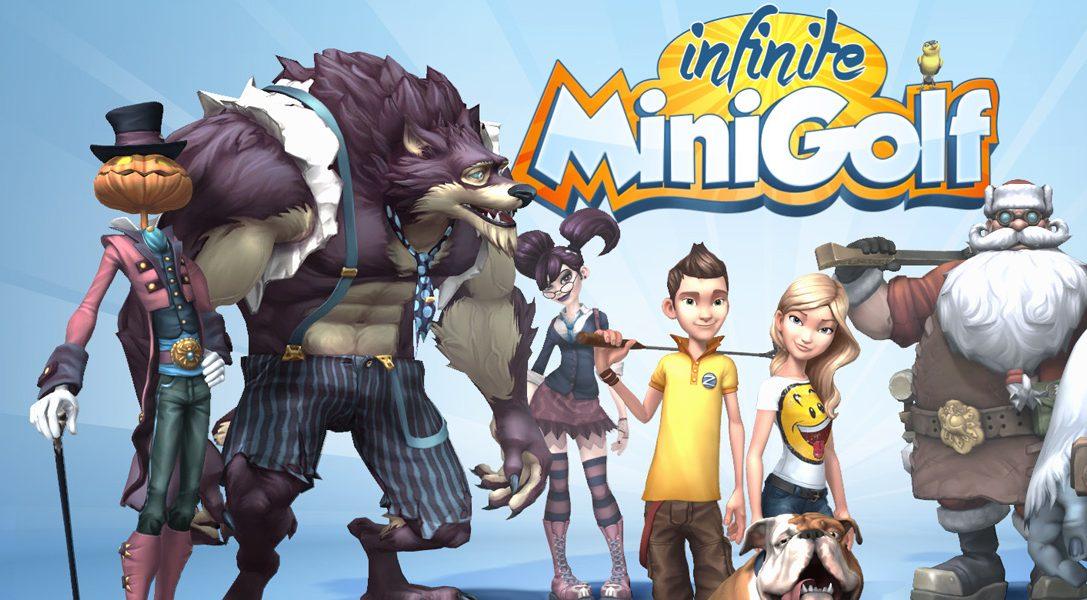 Infinite Minigolf locht diesen Frühling auf PS4 und PS VR ein