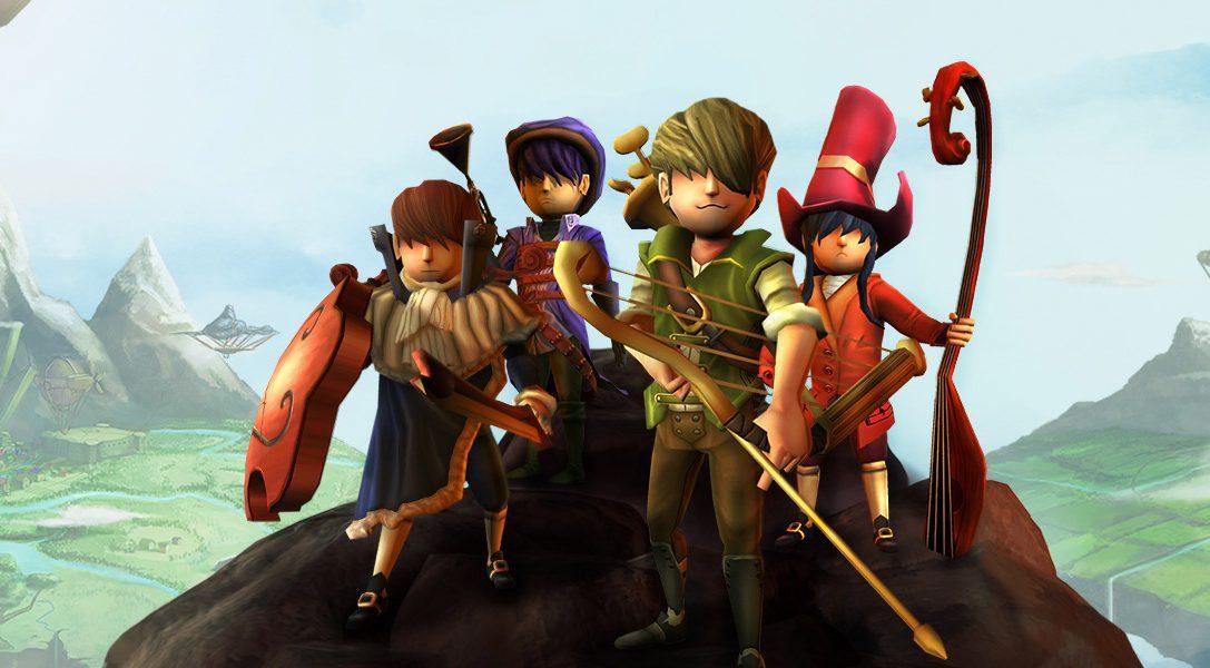 Das musikalische Action-RPG AereA erscheint diesen Juni auf PS4