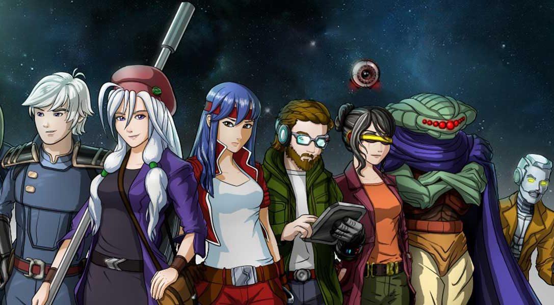 Werft einen Blick in das auf zügige Kampfsystem des Sci-Fi-RPGs Comic Star Heroine