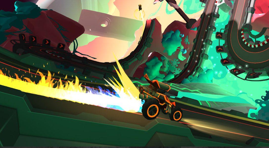 Die Schöpfer von Velocity 2X kehren mit dem PS VR-Titel Tiny Trax zurück