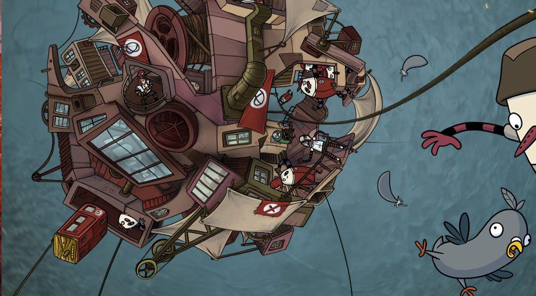 Wie eine einfache Taube im PS4-Abenteuer The Inner World die Show stiehlt