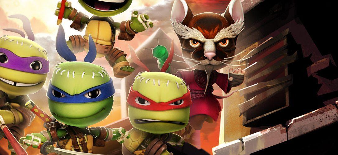 """LittleBigPlanet 3: """"Teenage Mutant Ninja Turtles – Schurken""""-Kostümpaket erscheint diese Woche"""