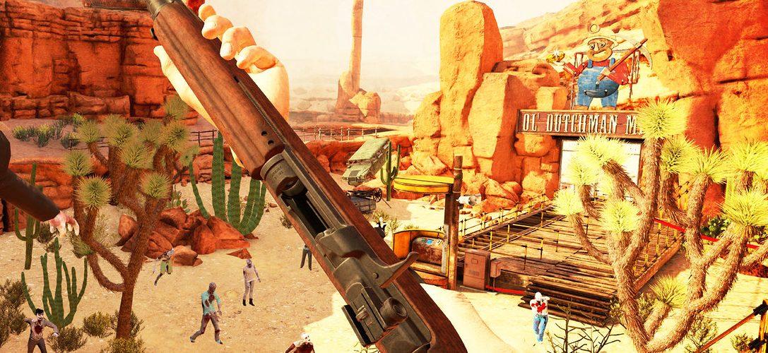 Der PS VR-Zombie-Shooter Arizona Sunshine ist ab morgen erhältlich mit zusätzlichen 10 % Rabatt für PS Plus-Mitglieder