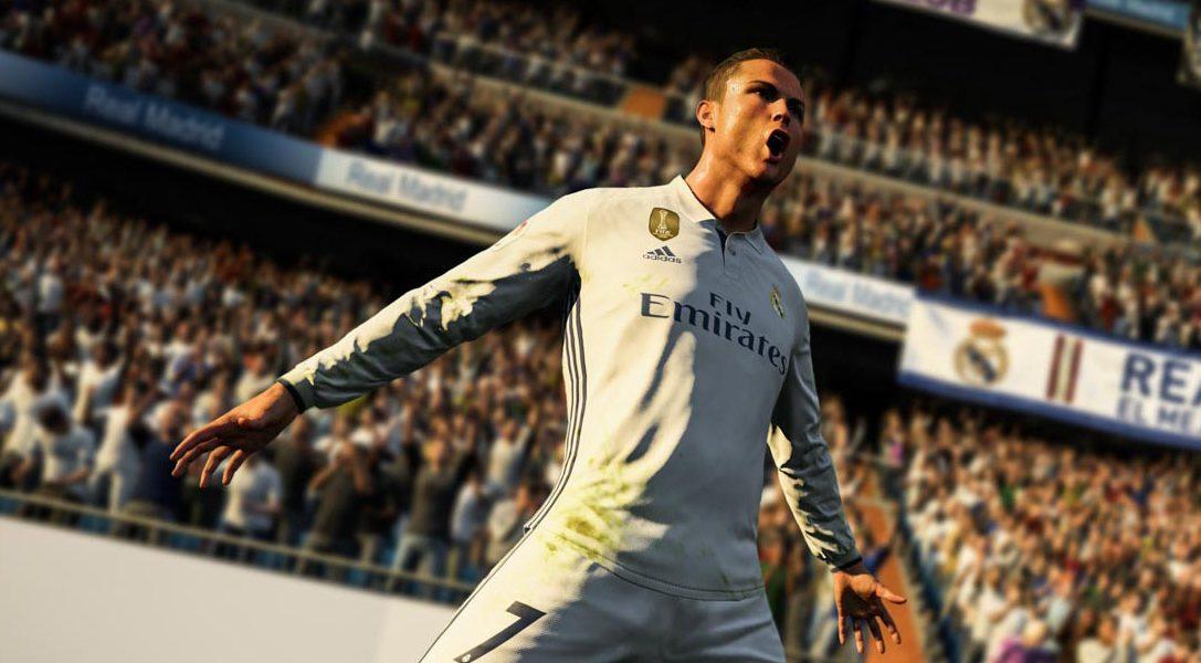 FIFA 18 mit Cristiano Ronaldo angekündigt