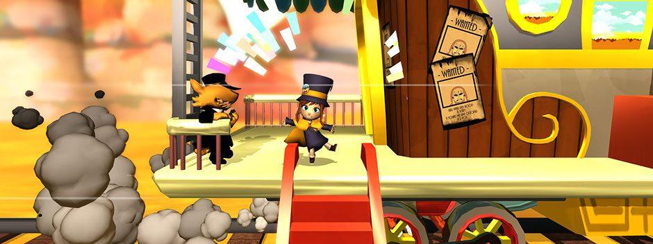 PS4 Platformer A Hat in Time verspricht stylische Kopfbedeckungen und abgedrehte Aktivitäten