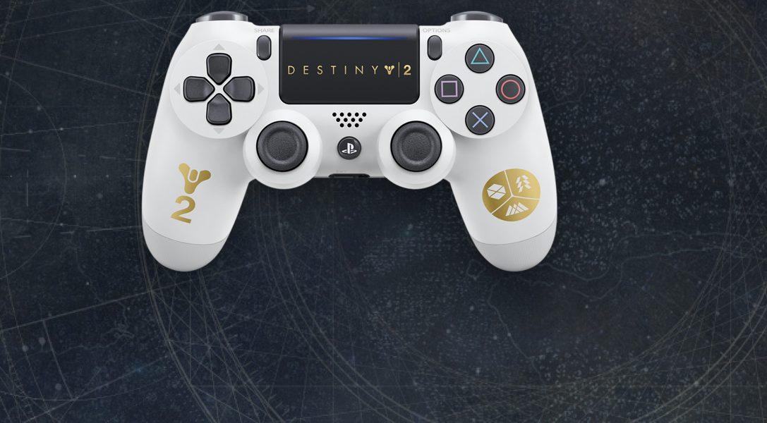 Limited Edition des DUALSHOCK 4 Wireless-Controllers zu Destiny 2 und neues PS4-Bundle angekündigt