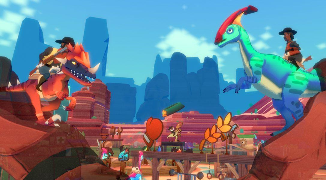 Dino Frontier erscheint am 1. August auf PS VR