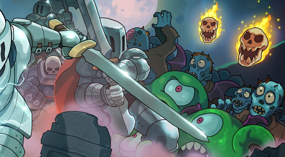 Legt im Arcade-Twin-Stick-Shooter Iron Crypticle diesen Monat eure Ritterrüstung an und greift zu den Waffen