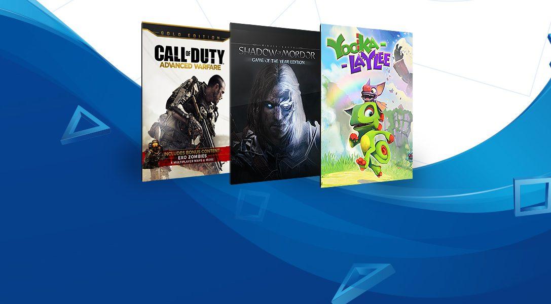 """Heute starten die """"Spiele unter €20"""" im PlayStation Store"""