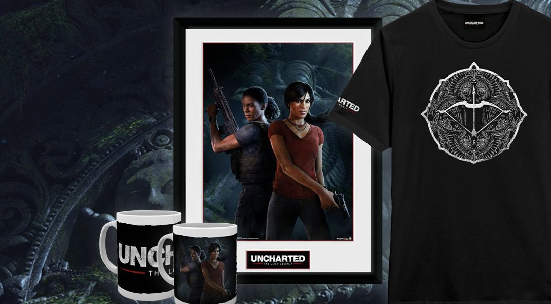 """Neue """"Uncharted: The Lost Legacy""""-Merchandise-Artikel bei PlayStation Gear"""