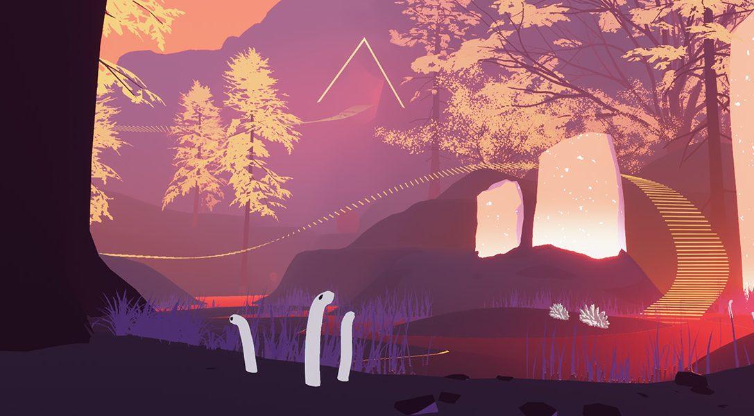 Entdeckt die Geheimnisse des abstrakten Erkundungstitels Shape of the World, das Anfang 2018 für PS4 erscheint